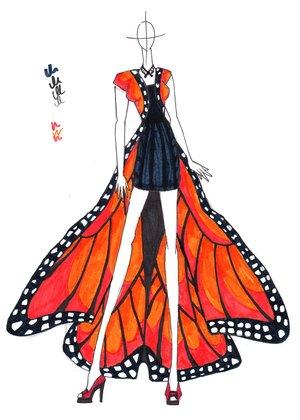 fashion calendar kabuki presents my precious butterfly 11