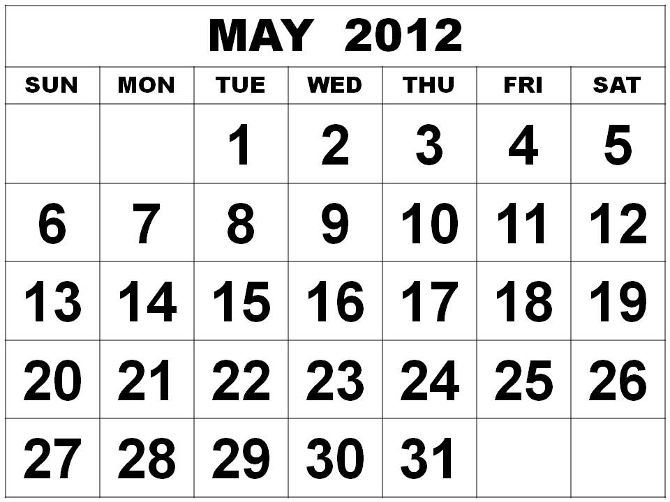 The Fashion Teller Fashion Calendar: MAY 2012