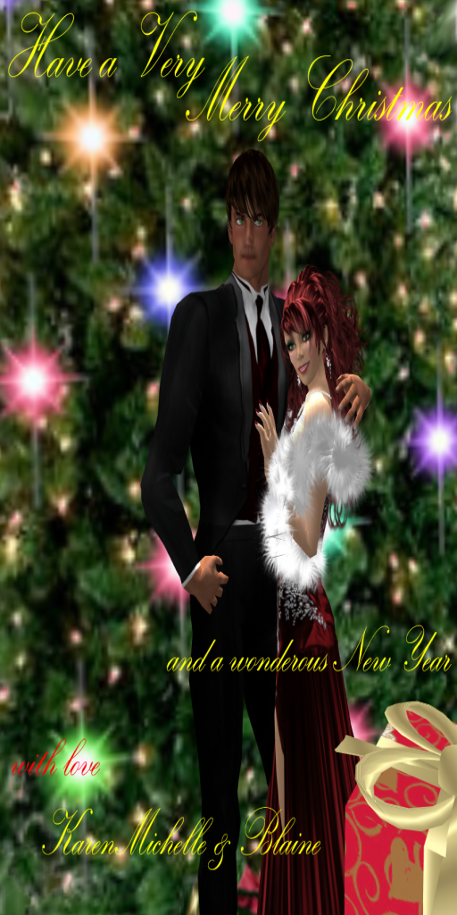 2012 Christmas Wishes from KarenMichelle & Blaine