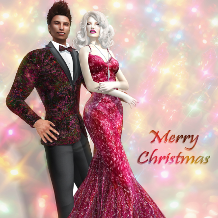 Merry Christmas from Anna Sapphire and Daniele Eberhardt