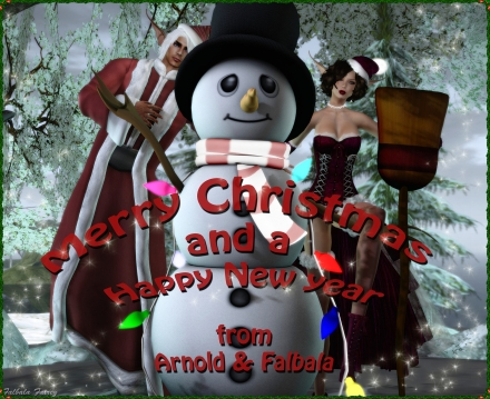 Merry Christmas from Arnold &  Falbala2-2