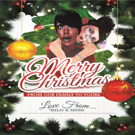 Merry Christmas from Kilo n Mina