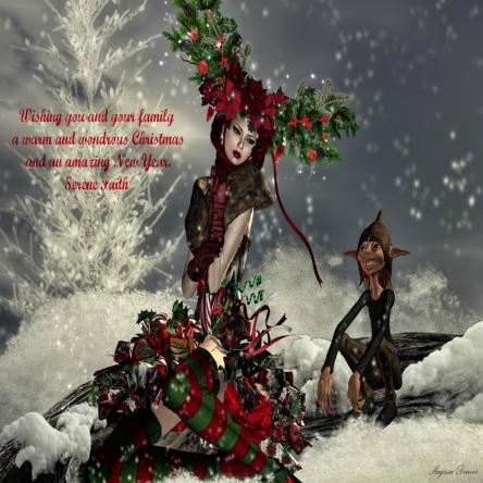 Merry Christmas from Serene Faith
