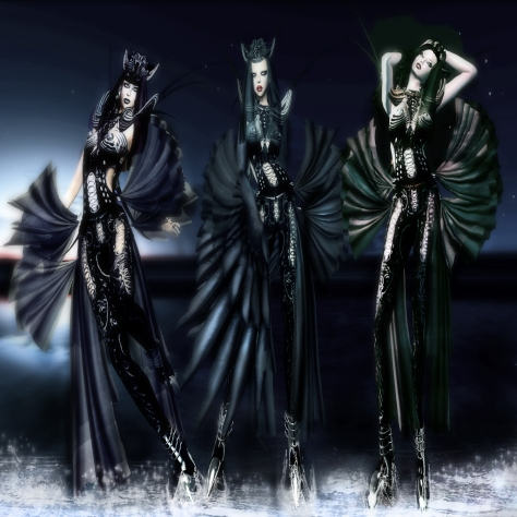 THE SIRENS for Fashion Teller By Spartin Parx