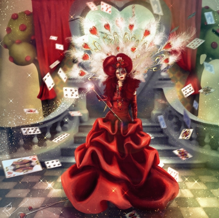 Honey Queen of hearts