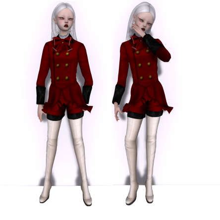 Fashion Teller Dollhouse Casting WINTER JEFFERSON BODY