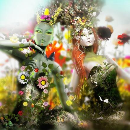 2 Wildflowers  models Spirit&Astralia