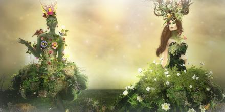2 Wildflowers scene Spirit and Astralia - Spring Awakening1