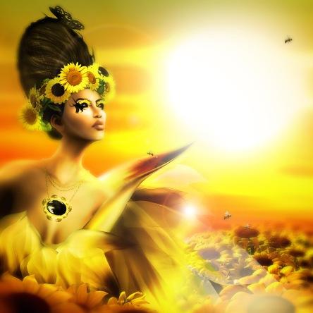 4 Sunflower Flidais