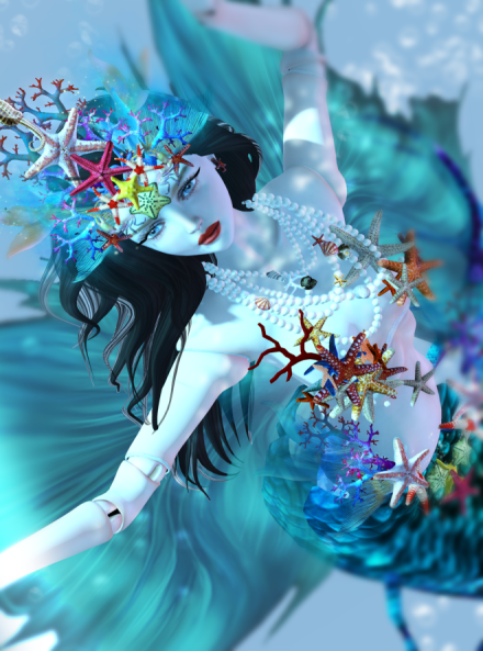 FTH_TheDollHouse-TheMermaid_VeronicaLynnParx_ThePierrot