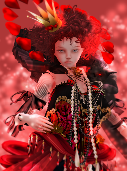 FTH_TheDollHouse-TheRedQueen_LocualaMadruga_ThePierrot